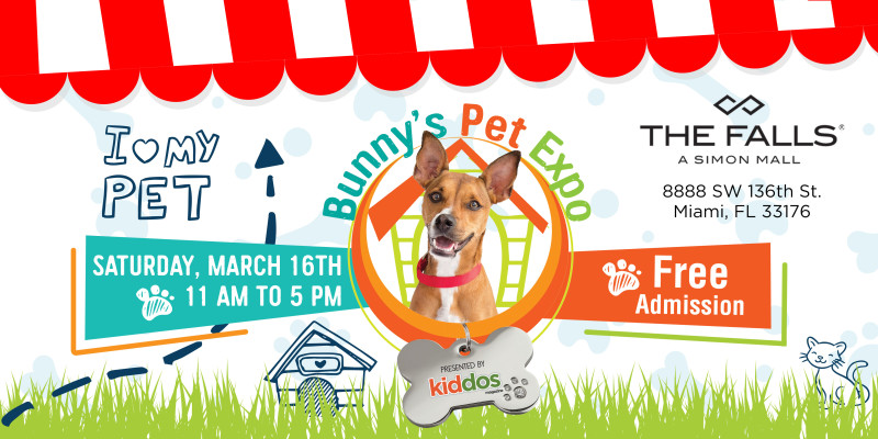 Bunny's Pet Expo EventBrite Image