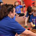 Autism Speaks Light it Up Blue - Chicago Children's Museum Autism Awareness Celebration