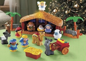 Fisher-Price-Little-People-A-Christmas-Story-KID-FRIENDLY-NATIVITY-SCENE