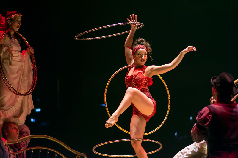 Hula-Hoop Costumes Dominique Lemieux 2018 Cirque du Soleil Photo 1