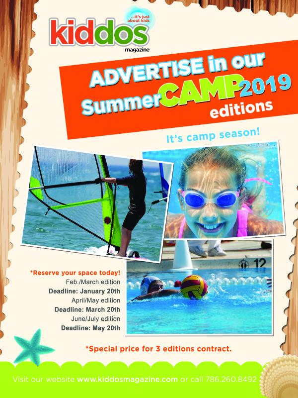 Kiddos Summer Camp Full Page Ad 2019