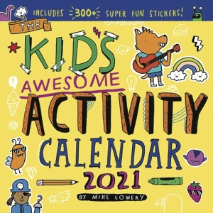 Kid's Awesome Activity Wall Calendar 2021