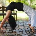 Maria Rosa yoga pose